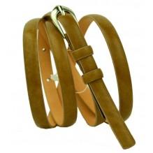Женский узкий кожаный ремень (арт. 101335)