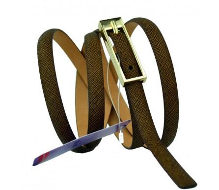 Женский узкий кожаный ремень (арт. 101090) Mayer