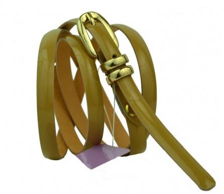 Женский узкий кожаный ремень (арт. 101082) Mayer