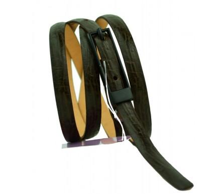 Женский узкий кожаный ремень (арт. 101085) Mayer
