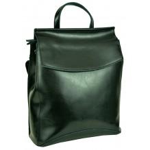 Рюкзак Сумка из Кожи (арт. 201143) цвет черный