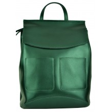 Рюкзак Сумка из Кожи (арт. 201523) цвет зеленый
