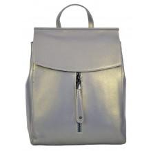 Рюкзак Сумка из Кожи (арт. 201147) цвет серый