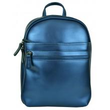 Рюкзак Сумка из Кожи (арт. 201002) цвет синий
