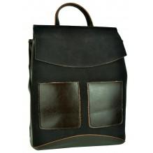 Рюкзак Сумка из Кожи (арт. 201467) цвет коричневый