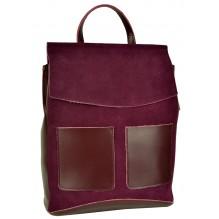Рюкзак Сумка из Кожи (арт. 201469) цвет фиолетовый