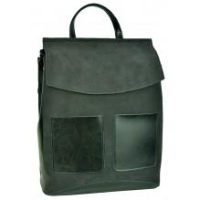 Рюкзак Сумка из Кожи (арт. 201119) цвет серый
