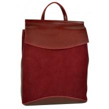 Рюкзак Сумка из Кожи (арт. 201472) цвет красный