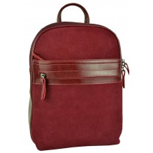 Рюкзак Сумка из Кожи (арт. 201260) цвет красный