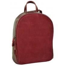 Рюкзак Сумка из Кожи (арт. 201478) цвет красный
