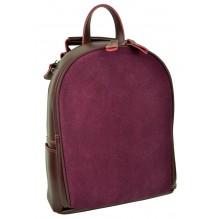 Рюкзак Сумка из Кожи (арт. 201481) цвет фиолетовый