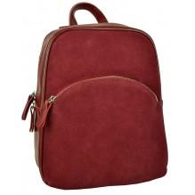 Рюкзак Сумка из Кожи (арт. 201261) цвет красный