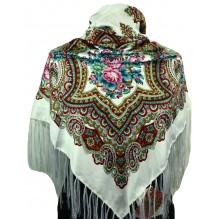Шёлковый платок 120см ГЕОРГИНА (арт. 200129)