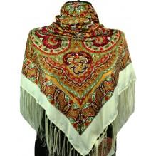 Шёлковый платок 120см КОНКОРДИЯ (арт. 200215)