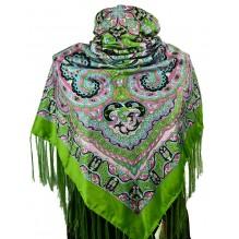 Шёлковый платок 120см ЛИЛИАНА (арт. 200230)
