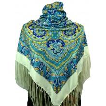 Шёлковый платок 120см МИЛЕНА (арт. 200259)