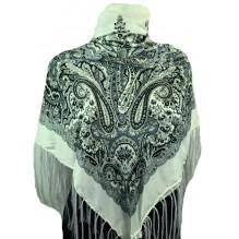 Шёлковый платок 120см РОЗА (арт. 200306)