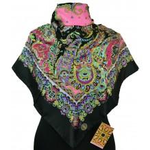 Шёлковый платок 100см ВАРВАРА (арт. 200095)
