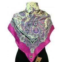 Шёлковый платок 100см ВИТАЛИЯ (арт. 200113)