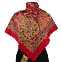 Шёлковый платок 100см ГЛАФИРА (арт. 200131)