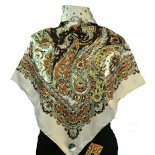 Шёлковый платок 100см ЕЛЕНА (арт. 200168)