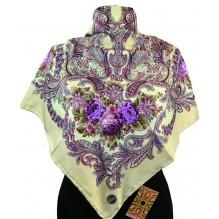 Шёлковый платок 100см ЛЮБАВА (арт. 200233)
