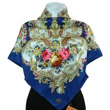 Шёлковый платок 100см МАРИЯ (арт. 200246)
