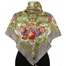 Шёлковый платок 100см ПАУЛИНА (арт. 200291)