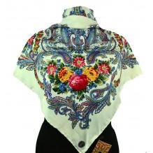 Шёлковый платок 100см РАДМИЛА (арт. 200299)