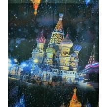 Палантин из вискозы с осыпкой (Москва) БЕАТРИСА (арт. 200082)