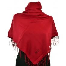 Шёлковый платок однотонный 100см СТАНИСЛАВА (арт. 200333)