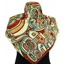 Шёлковый платок 70см АФАНАСИЯ (арт. 200076)