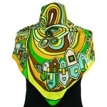 Шёлковый платок 70см ВИЛЕНА (арт. 200108)
