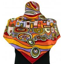 Шёлковый платок 70см ГЕЛЕНА (арт. 200126)