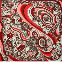 Шёлковый платок 70см ЕВГЕНИЯ (арт. 200162)