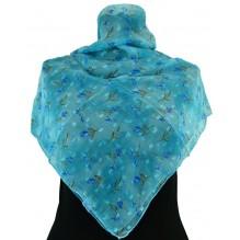 Церковный платок из шифона Цветной 80см АИДА (арт. 200412)