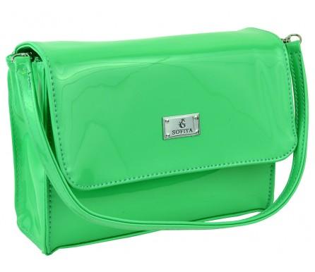 Cумка женская планшет (арт. 201755) цвет зеленый
