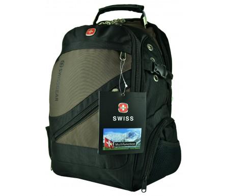 Рюкзак Городской 8810# (арт. 200937) цвет черный SWISS