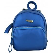 Рюкзак из Экокожи мини (арт. 201336) цвет синий