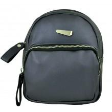 Рюкзак из Экокожи мини (арт. 201158) цвет черный