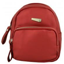 Рюкзак из Экокожи мини (арт. 201159) цвет красный