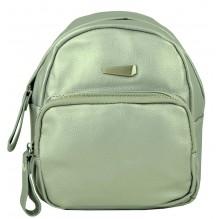 Рюкзак из Экокожи мини (арт. 201300) цвет серебрянный