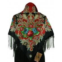 Шёлковый платок 100см АНИСЬЯ (арт. 200057)