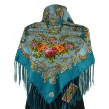 Шёлковый платок 100см ЕВДОКИЯ (арт. 200163)