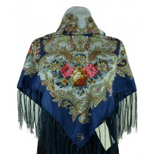 Шёлковый платок 100см ИСИДОРА (арт. 200197)