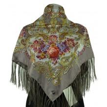 Шёлковый платок 100см НАДЕЖДА (арт. 200269)