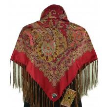 Шёлковый платок 100см ПАВЛА (арт. 200289)