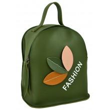 Рюкзак из Экокожи мини (арт. 201232) цвет зеленый