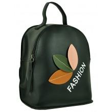 Рюкзак из Экокожи мини (арт. 201018) цвет черный