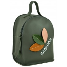 Рюкзак из Экокожи мини (арт. 201322) цвет серый